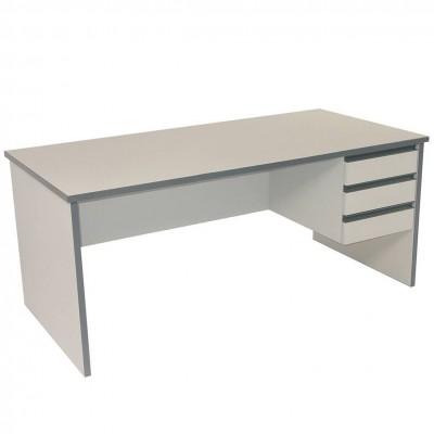 D3503   Office Desk   Mascot   Grey   1650x800