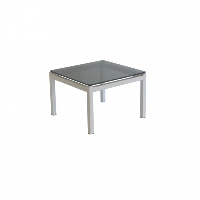 Office Furniture Hire Aeon Coffee Table Tinted Glass White