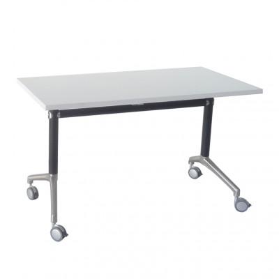Office Furniture Hire Tilt N Fold Table White 1200 X