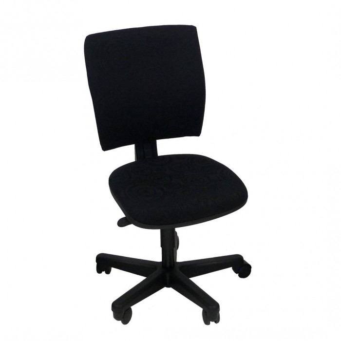 C fice Chair Icon black swirl pattern