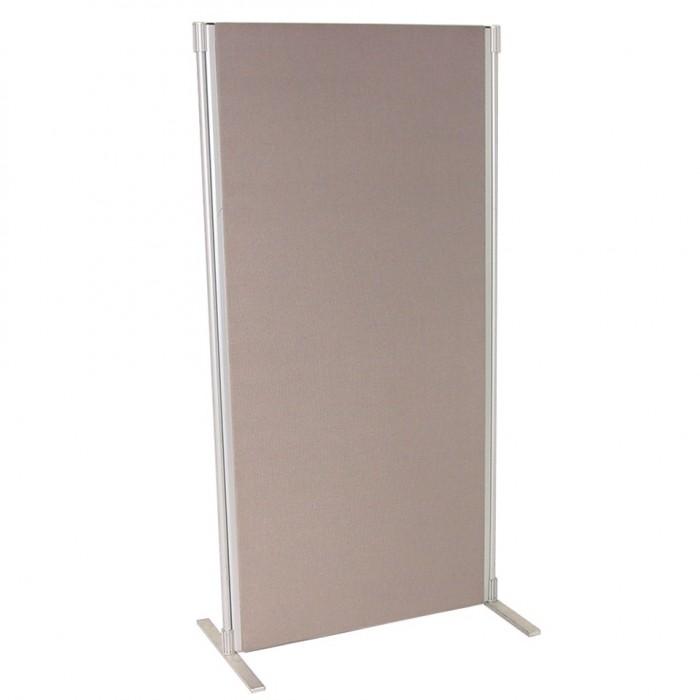 Display board crystal grey 1800h x 900w office for Office display board