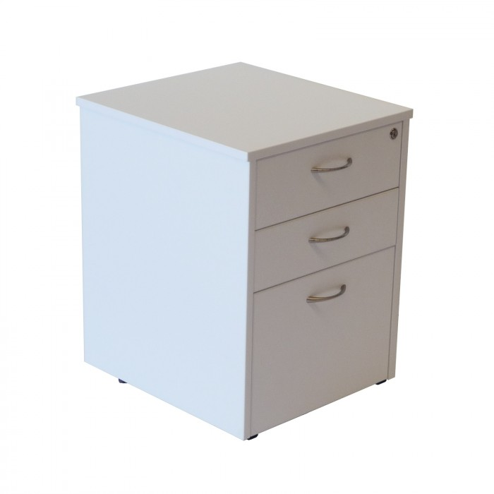 Office Furniture Hire Mobile Drawer Unit West Grey