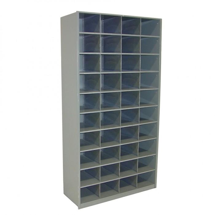 Elegant P6001   Pigeon Hole Cabinet   Grey   40 Pigeon Holes   1000w X 380d X