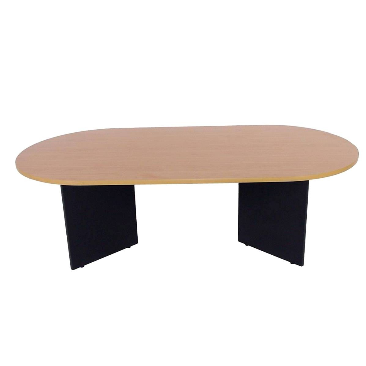 T4003 meeting boardroom table oxford tawa top black base 2400x1200
